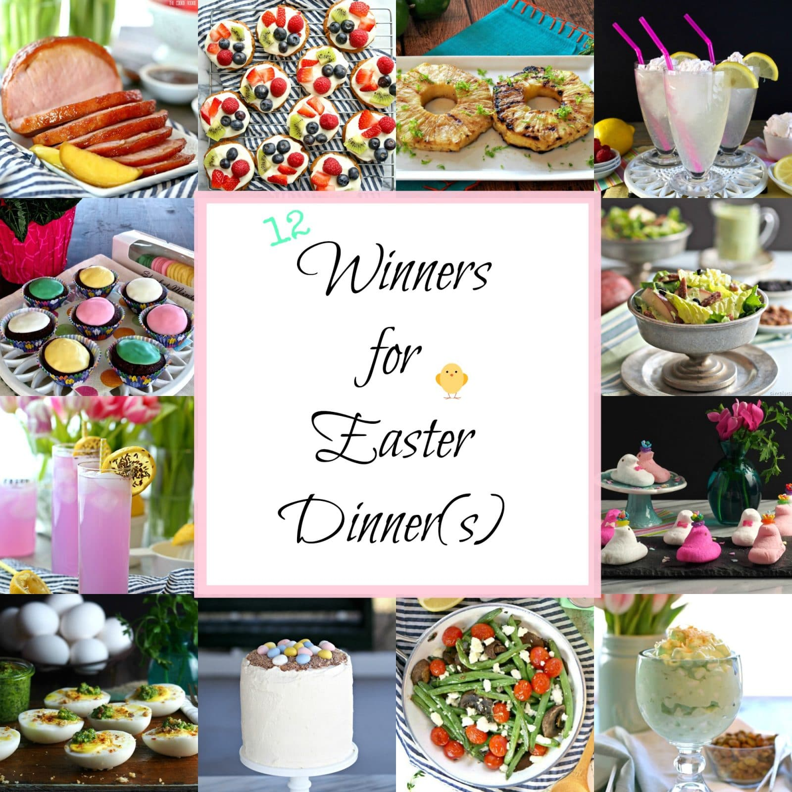 12 Winners For Easter Dinner S Twelve Winning Recipes From Drinks To Desserts
